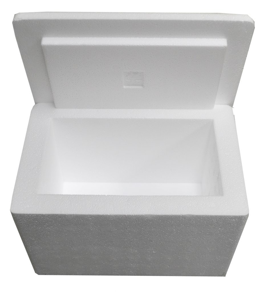 12 X 8 X 8 Quot Insulated Styrofoam Shipping Cooler And Box