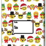 "Emoji Print Large Tyvek Envelope 12"" x 16"" 6/Pk"